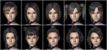 Edit Female - Hairstyles (DW5)
