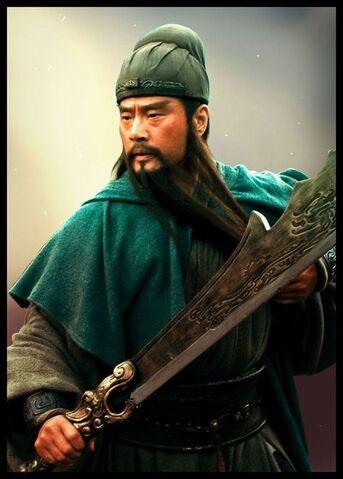File:Guan Yu Drama Collaboration (ROTK13 DLC).jpg