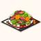 Autumn Deer - Deer and Ham Salad (TMR)