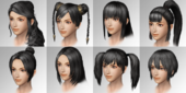 Female Hairstyles (SSM SLASH)