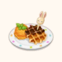 File:Chocolate Waffle with Carrot Ice Cream (TMR).png