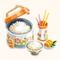 Freshly Cooked Rice (TMR)