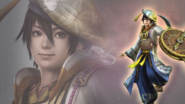 File:Hanbei Takenaka Wallpaper (WO3 DLC).jpg