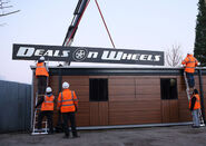 Deals on Wheels New Sign (2014)