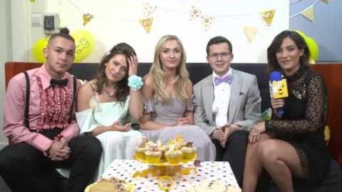 Frankie Bridge Interviews the Cast of Eastenders - Part One