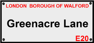 Greenacre Lane, Walford