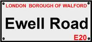 Ewell Road, Walford