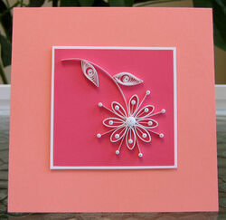 Quilled-daisy-card