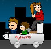 The bathmobile