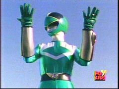 TF Green Time Force Ranger