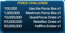 Force Challenge 21