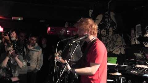 Ed Sheeran - The City Live at Liverpool Sound City 19 05 2011