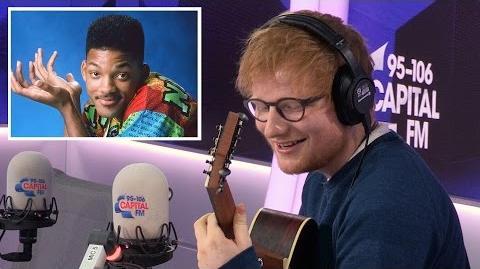Ed Sheeran Covers 'The Fresh Prince' Theme Tune