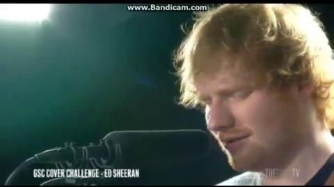 """Ed Sheeran covers Jamie Lawson """"Wasn't Expecting That"""" NZ 2015"""
