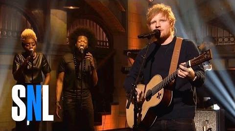 Ed Sheeran Castle on the Hill - SNL