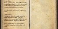 Arrai's Journal