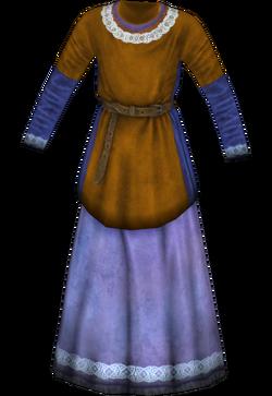 Girl's Yellow Dress