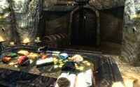 Skyrim Pinewatch treasure room