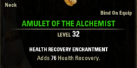 Amulet of the Alchemist