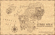 Map of Stros M'kai