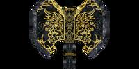 Ebony Battle Axe (Oblivion)