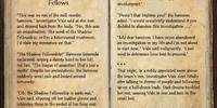 Investigator Vale: Shadow Fellows