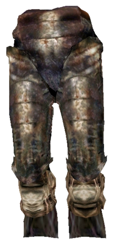 File:Iron Greaves (Morrowind).png
