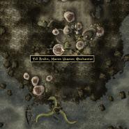 Tel Arhun Maren Enchanter - Local Map - Morrowind