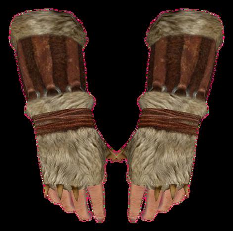 File:Fur Gauntlets (Oblivion).png