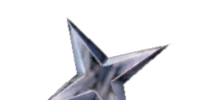 Silver Throwing Star