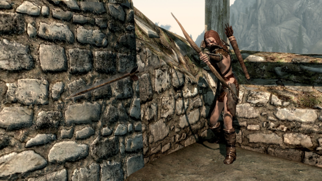 File:Aela Fires an Arrow.png