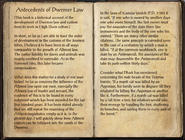 Antecedents of Dwemer Law