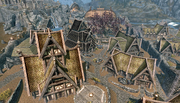 The Wind District Whiterun Skyrim 1