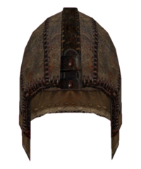 Leather Helmet (Oblivion)