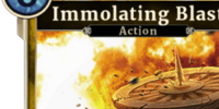 Immolating Blast (Legends)