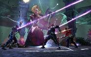 Celestial Mage battle