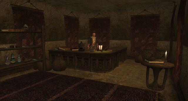 File:TES3 Morrowind - Molag Mar - Vasesius Viciulus Trader interior main.jpg