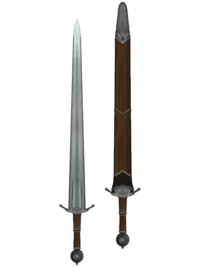 Oblivion SteelLongsword