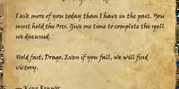 Drago's Orders