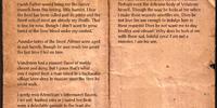 Tancano's Journal