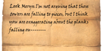 Scrawled Note (Dragonborn)