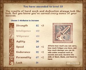 Level Up (Oblivion)