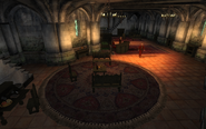 The Tiber Septim hotel Interior
