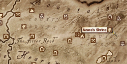 Shrine of Azura (Oblivion) MapLocation
