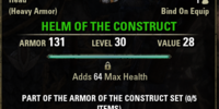 Armor of the Construct