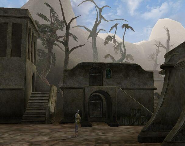 File:TES3 Morrowind - Balmora - Rararyn Rarayn Radarys' House exterior.jpg