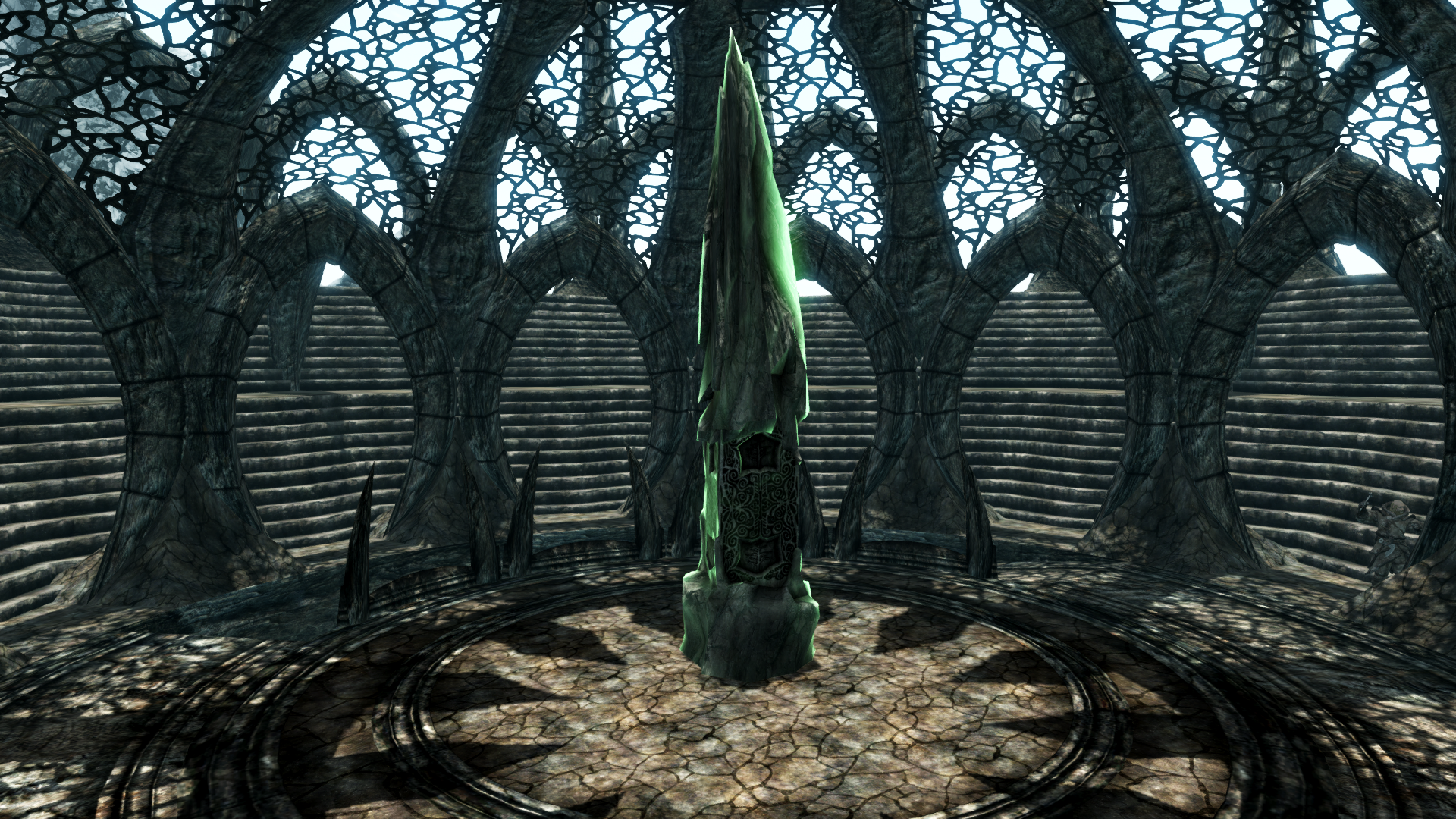 skyrim how to get to the tree