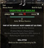 Nikulas Heavy Armor - Sabatons 35