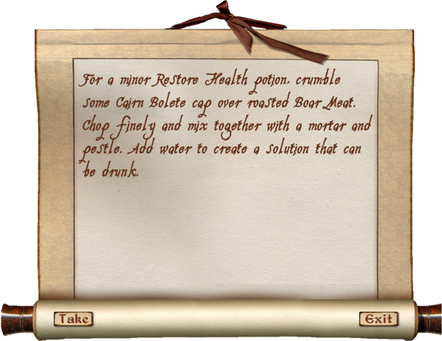 File:Shopping List (Oblivion) Health.png