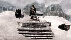 Shrine of Talos Winterhold Glaciers